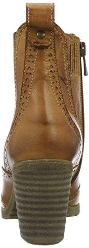 Andrea Conti 1672707 - botas de caña bajapara mujer Marrón (Cognac 062)