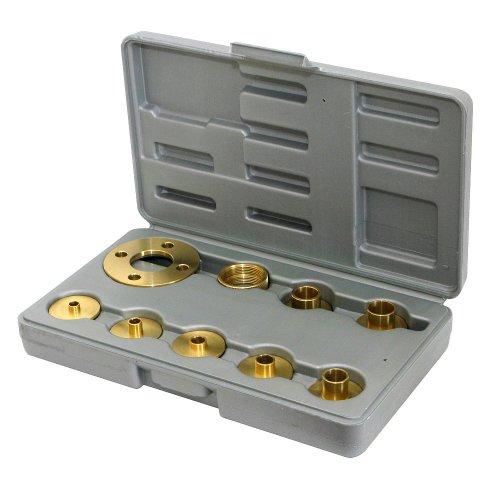(Amana Tool - BTG-100 10Piece Brass Template Guide Set)