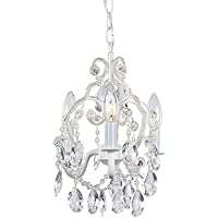 Hampton Bay 3-Light White Mini Chandelier by Hampton Bay