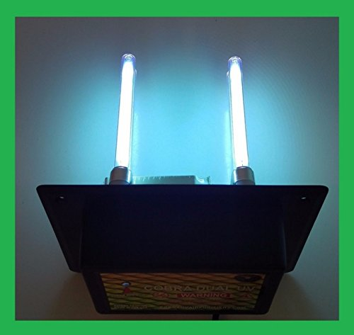 UV Light Air purifier Cleaner in duct for HVAC AC Duct Germi
