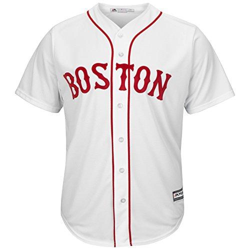 David Price Boston Red Sox #24 MLB Men's Cool Base Alternate Home Jersey (Small)