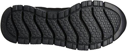 Skechers Skech-Flex 2.0, Zapatillas de Deporte Exterior para Hombre Negro (Bbk)