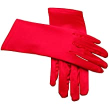 Miranda's Bridal Women's Wrist Length Formal Satin Gloves