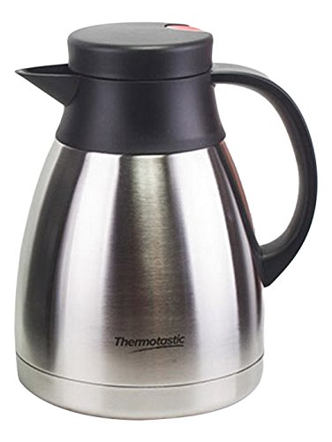 Thermotastic Everyday Vacuum Carafe, Stainless Steel, 1.5 (1.5l Vacuum Thermal Carafe)