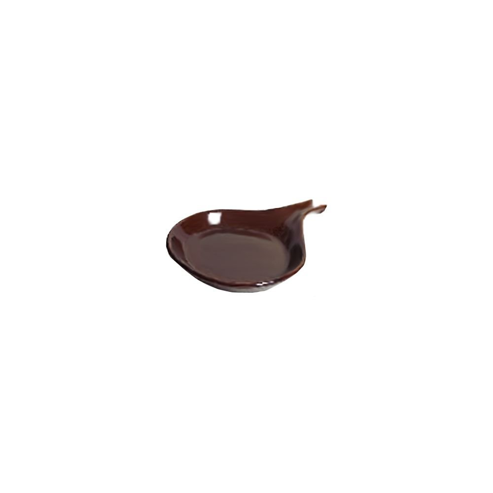 Tuxton BAP-114 Vitrified China Fry Pan Server, 18 oz, 11-3/8'', Caramel (Pack of 12), Oven-Microwave-Pressure Cooker Safe; Freezer to Oven Safe