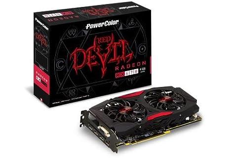 PowerColor axrx 470 4 GBD5 - 3DH/OC AMD Radeon RX 470 4 GB ...