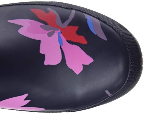 Bottes Femme Floral amp; Multi De Bleu Bottines Welly navy Joules Navmltflr Molly Pluie ZxqB00Ow