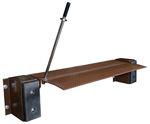 "Vestil FM-2572 Mechanical Edge-O-Dock Leveler, 25,000-lb. Capacity, 72"" Usable Width"