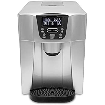 Whynter IDC 221SC Countertop Direct Connection Ice Maker And Water  Dispenser, Silver