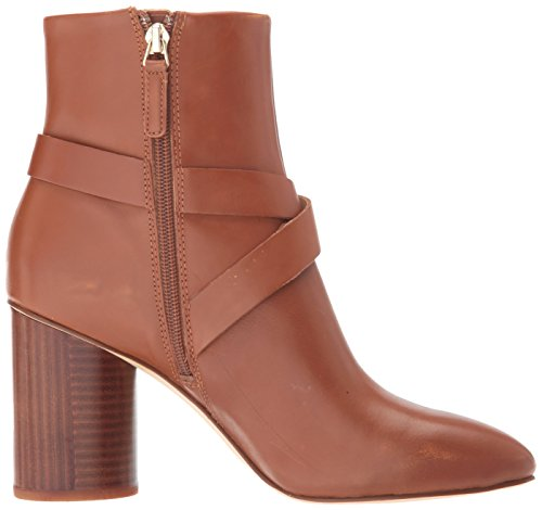 Cavanagh natural Boots dark Fashion West leather Women's Nine YOEB1q
