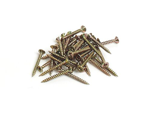 Brueder Mannesmann S61809 Chipboard Screws in Plastic Bag