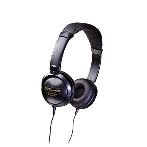 Audio-Technica ATH-M3X Mid-Size Closed-Back Dynamic Stereo Headphones by Audio-Technica (Image #1)