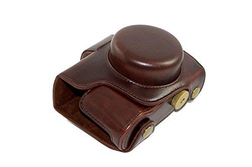 Protective Pu Leather Camera Case Bag With Tripod Design