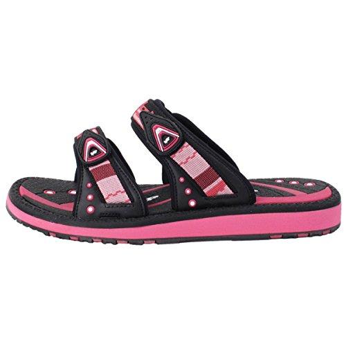 Guld Duva Skor Gp6888 Justerbara Outdoor Vattenrutschbana Sandal Tofflor För Män Kvinnor Barn (storlek: T10 Och Upp) 8550 Fuchsia