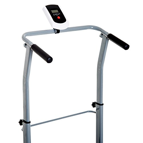 Soozier Folding 2-in-1 Manual Walking Incline Treadmill and Sit Up Exercise Machine by Soozier (Image #5)