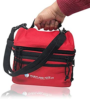 Cálido y Tote climatizada Lunch Bags, mantener cálido hasta que ...