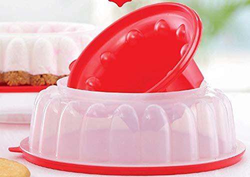 Jello Dessert Mold Tupperware Jel-Ring Serving Mold