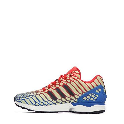 Adidas Zx Flux, Or Blanc Vert Sneaker Herren Wei? Bb5477 36,5 Eu Aq4533 Noir Rouge