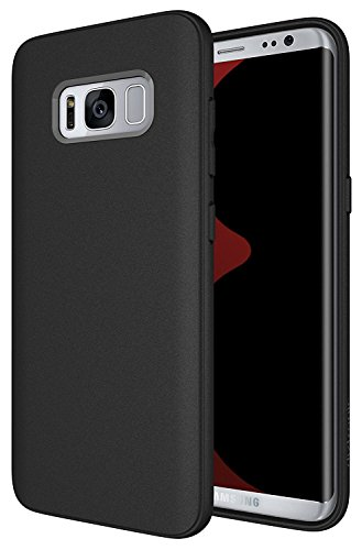 Price comparison product image Galaxy S8 Case, Diztronic Full Matte TPU Series (Rev. 2)- Slim-Fit Soft-Touch Thin & Flexible Phone Case for Samsung Galaxy S8 - (Matte Black)