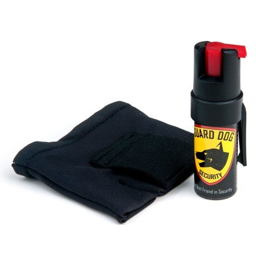 Guard Dog Instafire Runners Pepper Spray, Hottest Red Pepper Formula, Sweat Resistant, Fits in Hand, Black