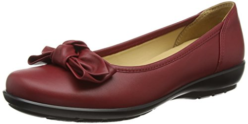 Flats Jewel Cherry Ballet WoMen Hotter Red wqFgtxBH