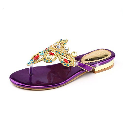 En Mujer Violet KPHY Bohemia De Zapatos ZqEWwtxPTv