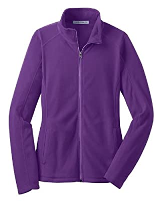 Port Authority L223 Ladies Microfleece Jacket, Amethyst Purple
