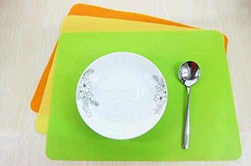 Multicolor light blue Stillshine Silicone Placemats Tableware Set for Kids//Toddler//Children//Baby