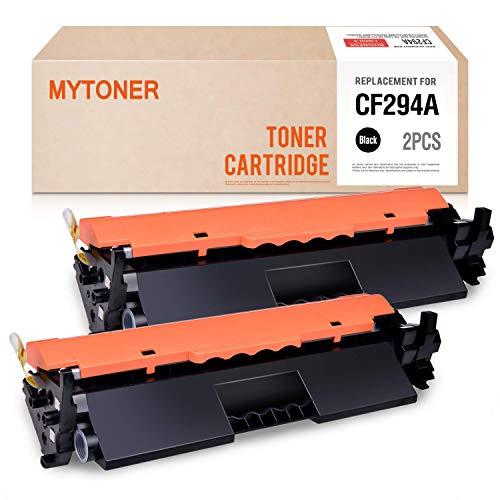 MYTONER Compatible Toner Cartridge Replacement for HP 94A CF294A Toner for Laserjet Pro MFP M148dw M118dw MFP M148fdw M148 Printer Ink (Black, 2-Pack) (Laser Map)