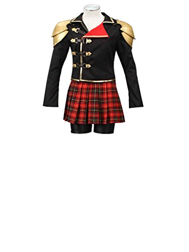 Mtxc Women's Final Fantasy Type-0 Cosplay Costume Seven 1st Size XX-Large Black - Final Fantasy Type 0 Seven Costumes