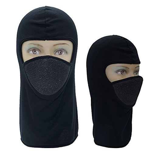 Balaclava Face Cover Mask Pack of 3 Ski Winter Fleece Outdoor Hood Motorcycle Tactical Running Hiking Thermal Cycling Sport For Men and Women - Goggles Online For Men Shopping