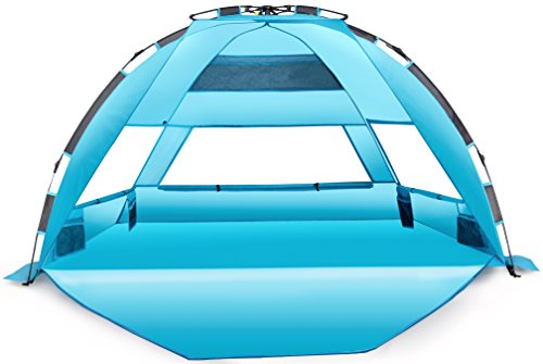 UPC 648620365583, Arcshell Premium Extra Large Pop Up Beach Tent UPF 50+