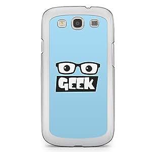 Geeks Samsung Galaxy S3 Transparent Edge Case - Design 1