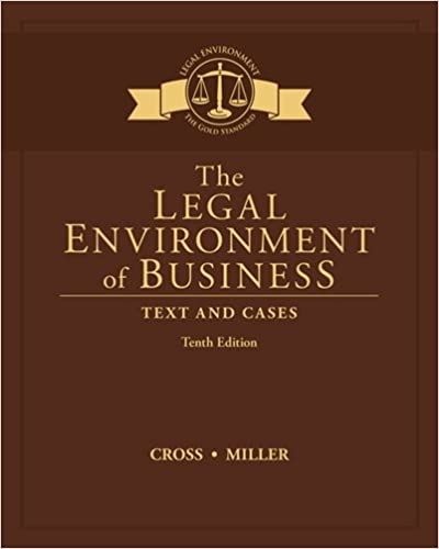 The legal environment of business text and cases frank b cross the legal environment of business text and cases 10th edition fandeluxe Gallery