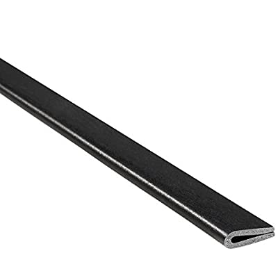 "Trim-Lok Rubber Edge Trim – Fits 1/16"" Edge, 3/8"" Leg Length, 25' Length, Black – Flexible Neoprene Edge Protector for Sharp/Rough Surfaces, Easy to Install for Cars, Boats, Machinery and More: Industrial & Scientific"