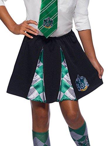 Rubie's Costume Co Girlsharrypotterskirt, Slytherin, OneSize ()