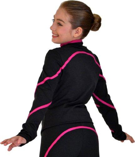ChloeNoel Women's Pipings Swirl Jacket