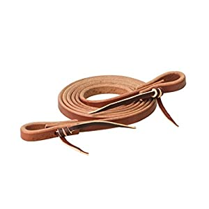 Weaver Leather Heavy Harness Roper Rein, Canyon Rose, 5/8″ x 7′