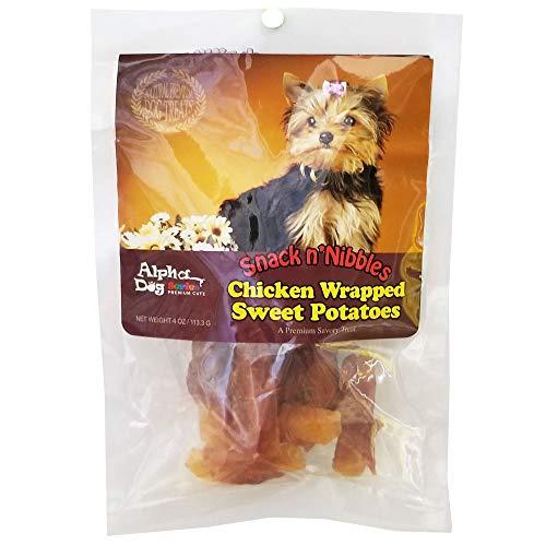 Alpha Dog Series Single Duck Wrapped Sweet Potato Treats, 4 Oz