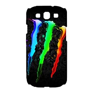 Protection Cover Samsung Galaxy S3 I9300 White Phone Case Jswyn Monster Energy Personalized Durable Cases