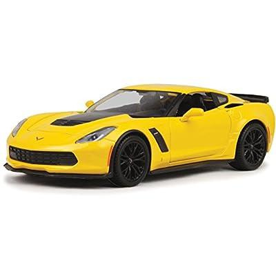Maisto 31133YL 2015 Chevrolet Corvette C7 Z06 1/24, Yellow: Toys & Games