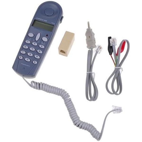 "Lot 10 Modular Telephone 18/"" Phone Cords Fax Telecom Modem Answering Machine New"