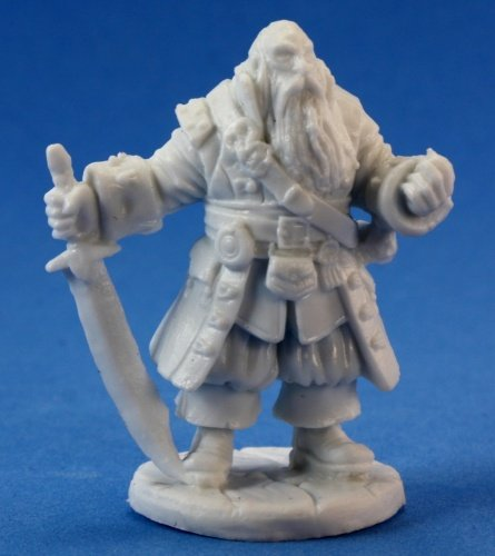 Barnabus Frost, Pirate Captain (1) Miniature by Reaper