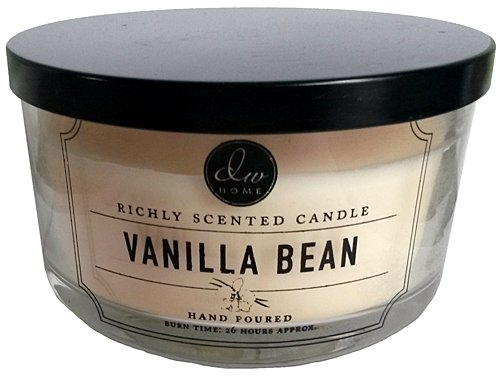 - Decoware Vanilla Bean 3-wick Candle 13.3 Oz. In Glass