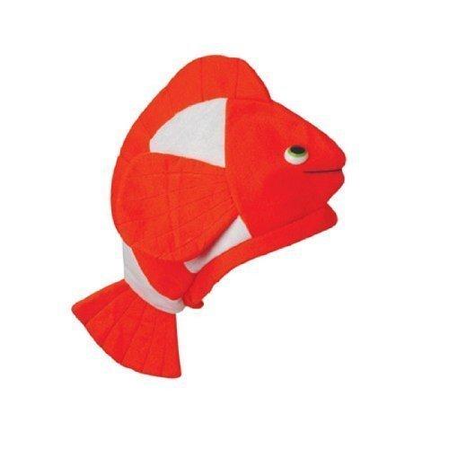 One Clown Fish Orange & White Hat (Fancy Clownfish)