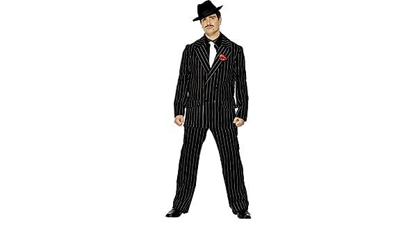 NET TOYS Traje de mafioso años 20 Disfraz gánster Vestuario ...