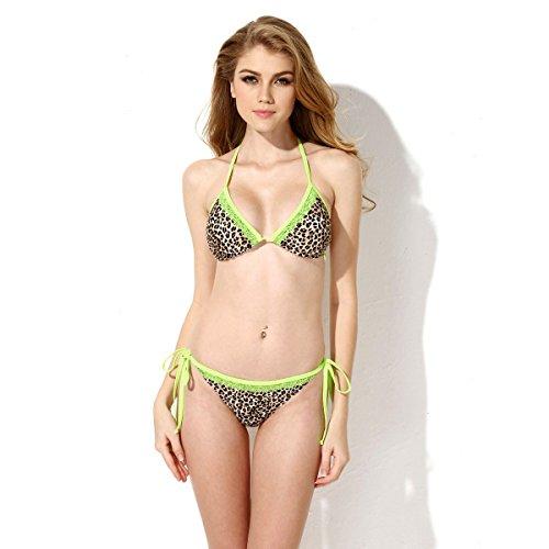 Colloyes Damen Bikini-Set braun braun Medium Gr. Medium, braun