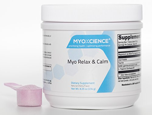Cheap Myo Relax & Calm | Myo-Inositol, L-Theanine, Taurine, Magnesium & GABA | Supports Sleep, Neurotransmitter & Hormone Support