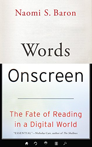 Image of Words Onscreen: The Fate of Reading in a Digital World