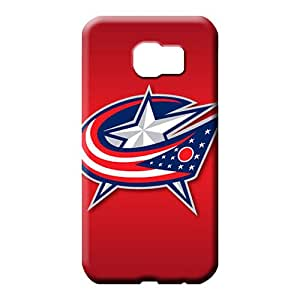 samsung galaxy s6 Nice Customized For phone Cases phone cover skin columbus blue jackets